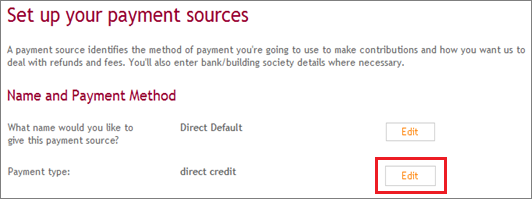 Building Society Details