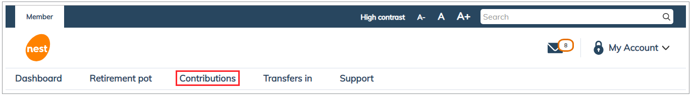How do I stop contributions | NEST Member Help centre