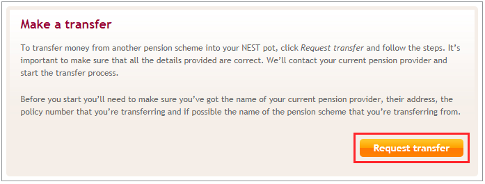 You Ll See Your Personal Details That We Have On Our System If Any Of Need To Be Updated Click Edit Can