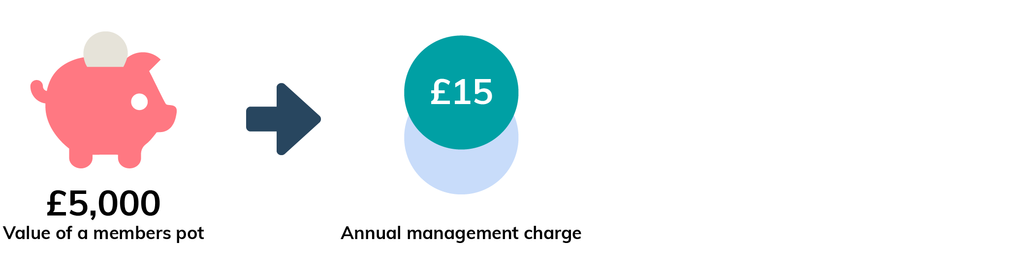 Example of an annual management charge