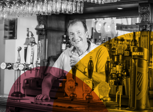 Alan Hewitt owner, The Bustard Inn