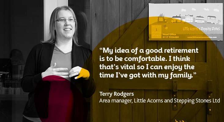 Terry Rodgers member case study quote image
