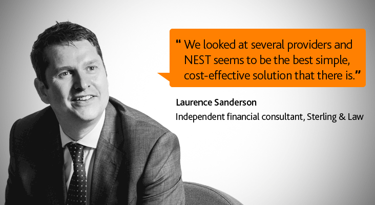 Laurence Sanderson NEST Connect case study