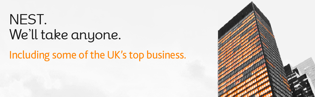 Banner image saying we'll take anyone - including some of the UK's top business