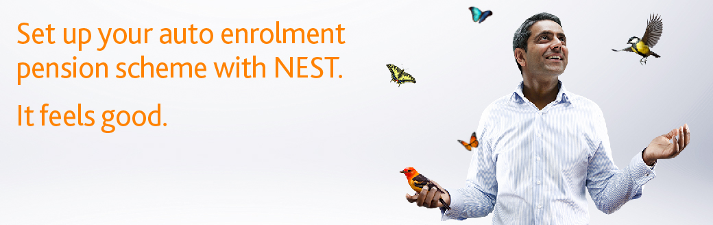 Set up your auto enrolement pension scheme with NEST